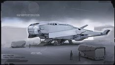 Production sketches on Behance