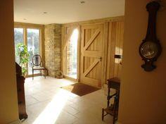 Architect Roger Robinson's Devon home   Carpenter Oak