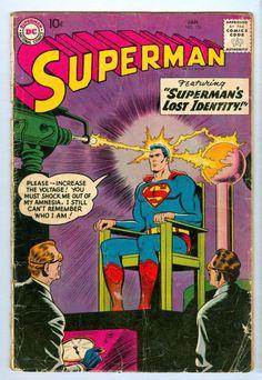 Superman 126 1959 Silver Age Gem Free Shipping G | eBay