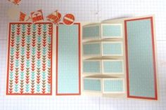 PROJECT: work on cut file for this card. On SplitCoastStampers Building Block Card by Laura Lipe
