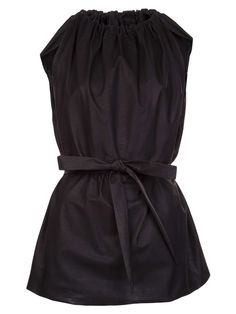 Rick Owens Vault leather top- so cute!