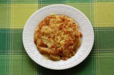 Frico del Friuli- Fried cheese Friuli style- Originally from the region of Veneto/Italy
