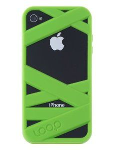 Amazon.com: Loop Attachment Mummy Case for Apple iPhone 4/4S - Green: Cell Phones & Accessories