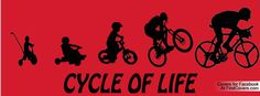 A way to show your #bike life history on your Facebook covert