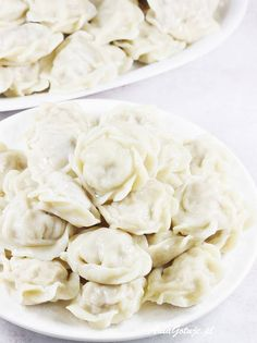 Pielmieni | AniaGotuje.pl Feta, Cooking Recipes, Cheese, Cooker Recipes, Recipies, Recipes