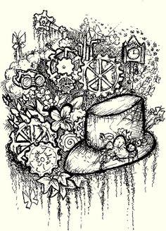 Steampunk doodling by thedelightfulpiggy on deviantART