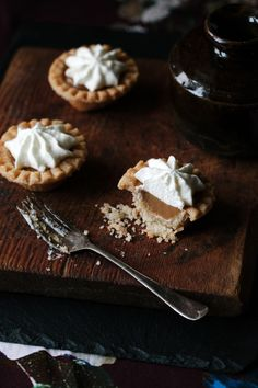 One bite of Cape Breton Butterscotch Pie and you won't look back! Thick, luscious butterscotch pie filling is made with brown sugar and butter and dolloped into Pie Recipes, Fall Recipes, Dessert Recipes, Desserts, Butterscotch Pie, Baked Pie Crust, Sugar Pie, Fabulous Foods, Food Print