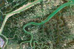 Earth View: A Curated Selection of the Most Striking Satellite Images Found on Google Earthby Christopher Jobson on August 7, 2015