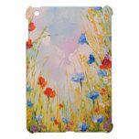 Wild flowers iPad mini case