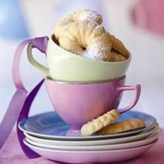Old fashioned custard biscuits/Outydse vlakoekies Best Sugar Cookie Recipe, Best Sugar Cookies, Easy Cookie Recipes, Snack Recipes, Dessert Recipes, Cooking Recipes, Snacks, Biscuit Cookies, Biscuit Recipe