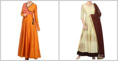 Which one of these anarkalis would you wear for a family A. Angrakha Style Anarkali B. Anarkali, Saree, Angrakha Style, Kurti, Cool Designs, Ethnic, Bright, How To Wear, Stuff To Buy