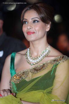 Bipasha In Transparent Saree