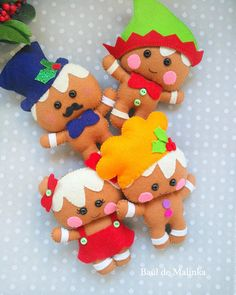 This is a digital tutorial on how to make Gingrbread Christmas doll from felt Included step by step instructions, pictures and full size pattern pieces. (no need to enlarge or resize). Its completely hand sew and you dont need a sewing machine. THIS IS NOT A FINISHED TOY. THIS IS A