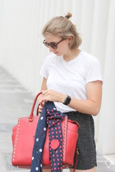How to Wear Dots - kessyandjoey Dots, How To Wear, Outfits, Stitches, Suits, Kleding, Outfit, Outfit Posts, Clothes