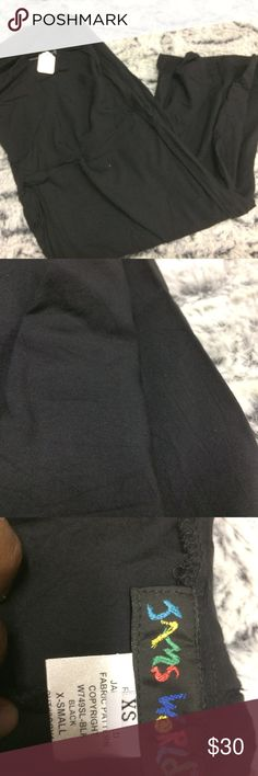 Jams World Black Wide Leg Pants Great used condition.  Needs ironing. jams world Pants Wide Leg