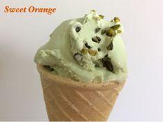 Sweet Orange: LODY PISTACJOWE Pudding, Ice Cream, Orange, Sweet, Desserts, Food, No Churn Ice Cream, Candy, Tailgate Desserts