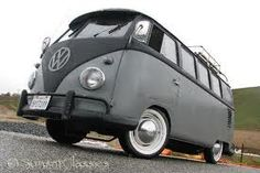 california vw bus