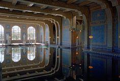 Indoor pool at Hearst Castle, Julia Morgan