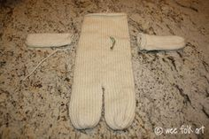 """Knitted in the Round 12"""" Baby Doll - Part 1 - Knitting the Body   Wee Folk Art"""