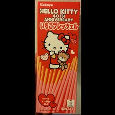 Strawberry Pretzel, Hug, Hello Kitty, My Style, Polyvore, Fictional Characters, Boxes, Design, Food