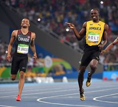 Is Usain Bolt already coming out of retirement? Rio 2016 Earlier today The gold medalist sprinter was caught in the Olympic stadium after hours having a go at the javelin throw.