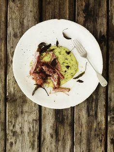 Polenta with roast ham & parsley | Gill Meller