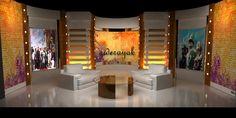 Tv Set Designs on Behance