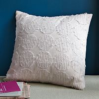 Shredded Circles Pillow Cover. 18x18 $34