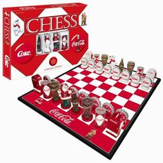chess sets | ... chess sets themed chess sets cs052 eg limited edition coca cola chess