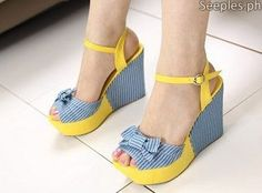 Korean Stripe Wedge Pre Order