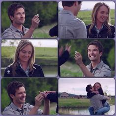 Ty: Amy Fleming, will you still marry me?
