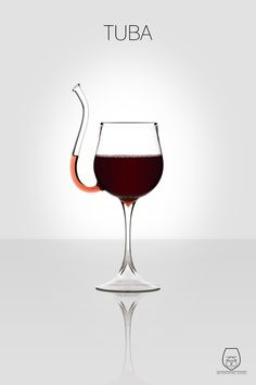 @ Kristen--A wine glass that you don't have to tip to drink out of--no dribbleing--teheheh