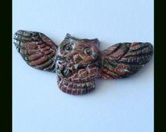 picasso jasper owl - www.gemrockauctions.com