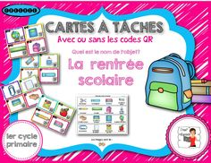 Back to school - Free resources French Teacher, Teaching French, First Day Activities, Activities For Kids, French Worksheets, French Verbs, Behavior Sheet, Core French, French Classroom