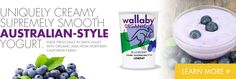 Wallaby Organic Yogurt - Responsibly made delicious organic yogurt