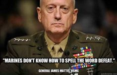 I'm sure there are lots of words marines can't spell. Go Army!