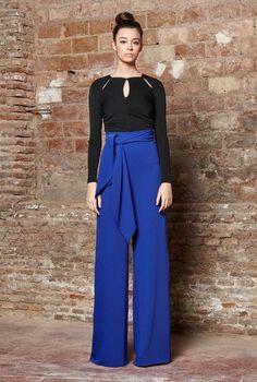 Pantalón O L I V I A nuestra propuesta de pantalón Palazzo para esta temporada!Disponible en Morado, Mostaza, Negro y Azul Electrico! Un MUST HAVE imprescindible para este nuevo Otoño Invierno que se avecina!