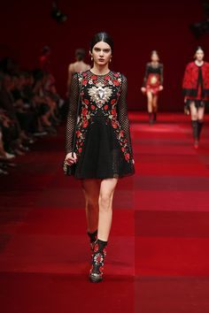 The Dolce&Gabbana Women Summer 2015 collection is inspired by the heritage of the Spanish culture on Sicily's history.