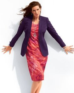 Jacket Purple Emilia Lay