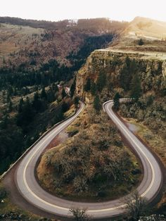 """Sometimes it is not a fork in the road. Sometimes it is long, deep bend. You slow the hell down.  You take a good look. You move really careful like, tender....cliff edge.  Then you move on.""- Emma S (Photo via That Kind Of Woman)"