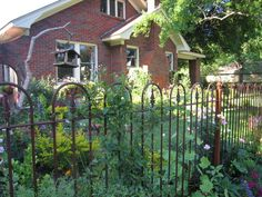 Antique Iron Fencing   Iron   Pinterest   Antique Iron, Iron And Gardens