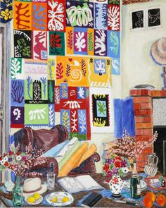 """Matisse's Studio, Venice"" by Damian Elwes, 2004"