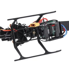 xk k130 2.4g 6ch brushless 3d6g system flybarless rc helicopter rtf compatible with futaba s-fhss Sale - Banggood.com Rc Helicopter, Spare Parts, Hobbies