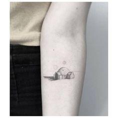 Luke Skywalker's house tattoo.