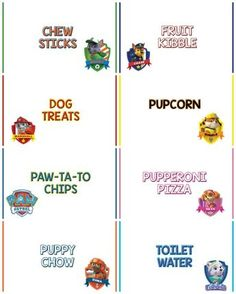 Paw Patrol birthday party (Blaze And Paw Patrol Cake) Puppy Birthday, Fourth Birthday, 4th Birthday Parties, Birthday Bash, Birthday Ideas, Kid Parties, Birthday Stuff, Theme Parties, Animal Birthday