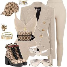 Shop this look. Boujee Outfits, Cute Swag Outfits, Dope Outfits, Classy Outfits, Polyvore Outfits, Stylish Outfits, Fall Outfits, Fashion Outfits, Black Girl Fashion