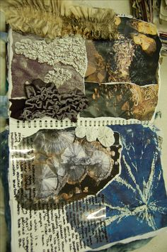 A postcard from St. A Level Textiles Sketchbook, Sketchbook Layout, Gcse Art Sketchbook, Fashion Design Sketchbook, Sketchbook Inspiration, Sketchbook Ideas, Textile Texture, Textile Art, Growth And Decay