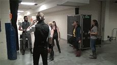 Skillet warming up before a show Your Music, Music Is Life, Skillet Band, Jen Ledger, Christian Rock Bands, Joyful Noise, Disney Songs, Demon Hunter, Heavy Metal