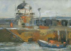 Junction Art Gallery - Harriet Eagle 'Smeatons Pier' www.junctionartgallery.co.uk/exhibition/future