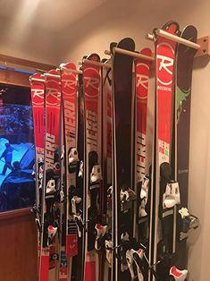Vertical Ski and Snowboard Storage Rack (6 Slots) (6 Slots) Ceiling Storage Rack, Locker Storage, Storage Racks, Garage Storage, Monkey Bar Storage, Dream Home Gym, Ski Rack, Best Skis, Ski And Snowboard